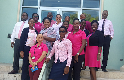 Antigua Pink Day