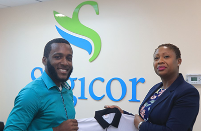 Sagicor supports cricket umpires