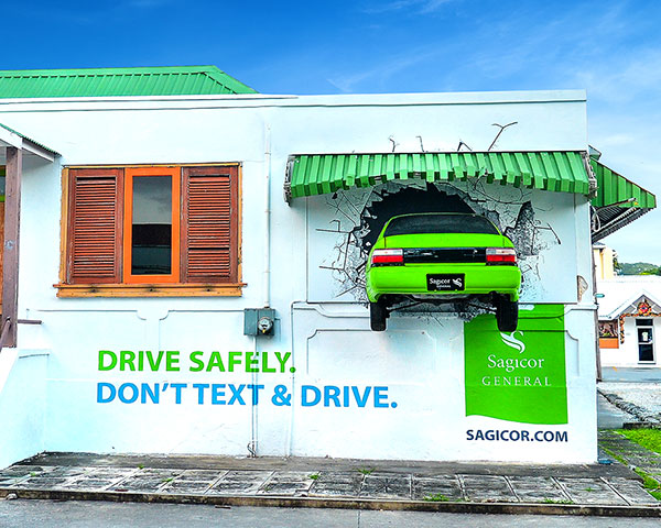 Sagicor General Insurance Don't Text and Drive