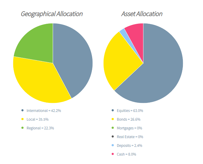 Gloabl Balanced Fund Graphs